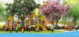碳化積木 兒童攀爬架爬網蕩橋組合 遊樂設備