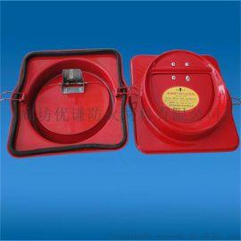 卫生间烟道防火止回阀排气扇用防返味止逆阀