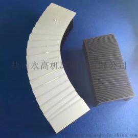 激光切 伸缩式风琴防护罩 防油防水防尘