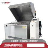 單工位旋轉噴淋清洗機 山東廠家直銷零部件噴淋清洗機