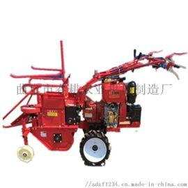 陕西梯田玉米收获机 春耕小型玉米收割机 粉碎秸秆机