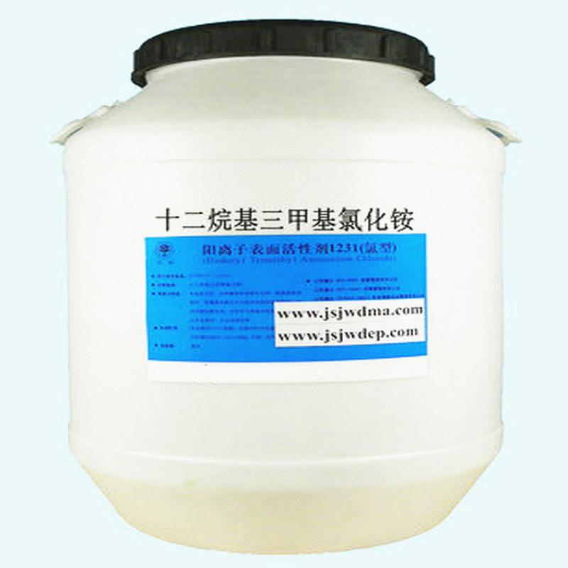十二烷基三甲基氯化铵(1231阳离子表面活性剂)