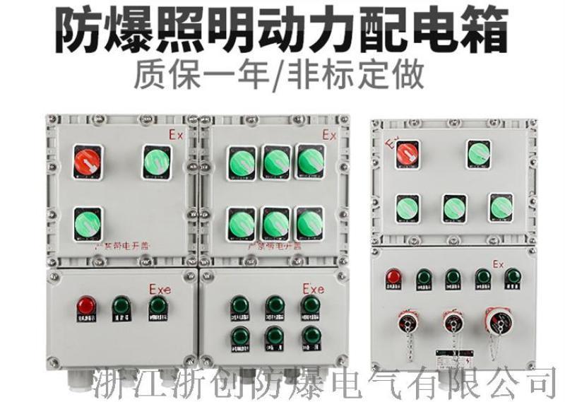 厂家定制直销BXM(D)防爆防腐动力配电箱