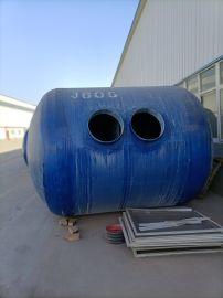 销售玻璃钢两格式消纺水罐农村改造水处理罐