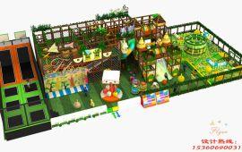 森林系列淘气堡 室内儿童乐园设备 森林主题淘气堡
