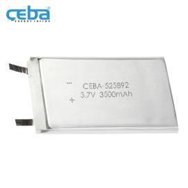 3.5Ah车载导航仪LP525892聚合物电池