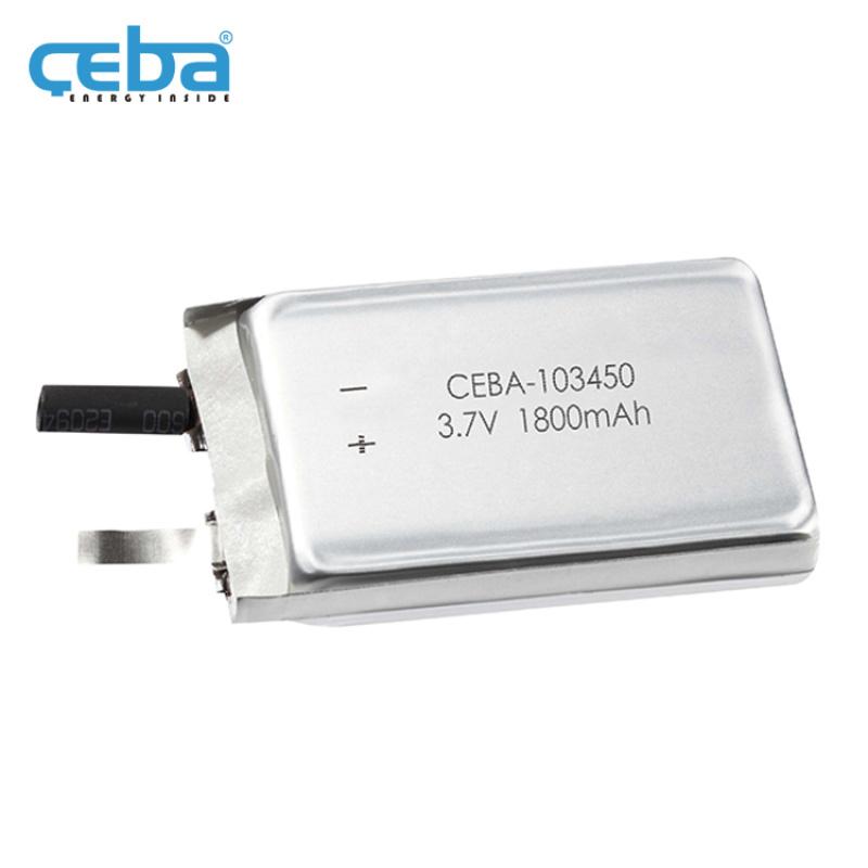 1.8Ah洗脸器美容仪LP103450聚合物电池