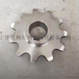 不锈钢链轮单排双排齿轮链条链轮工业传动50.8碳钢齿轮耐腐蚀定制