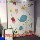 星氧美容3D打印彩绘墙面铝板 走廊案喷绘造型铝单板
