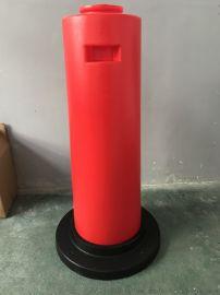 爆闪灯警示柱出口品质防撞桶道路 交通安全分流隔离桶