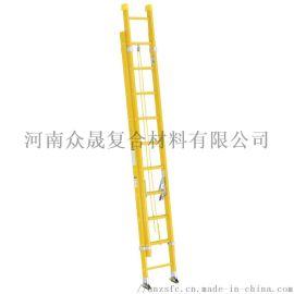 现货供应玻璃钢绝缘升降梯复合铝合金单升降梯