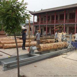 古建大型木工车床500毫米圆木车床