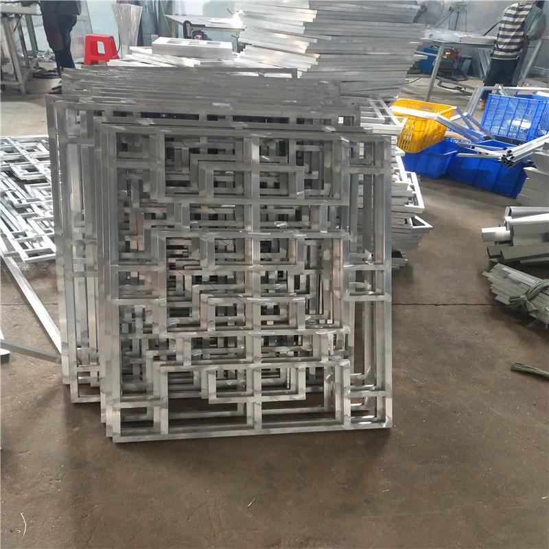 鋁格柵方管焊接鋁通花 金屬方管焊接鋁通花