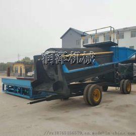 自动振筛淘金机可定制 淘金分离设备 沙金淘洗机械