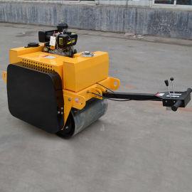 3吨振震动手扶式压路机 座驾式小钢轮单双压实土机