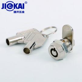 JK306开孔12mm锌合金转舌锁 广告箱锁