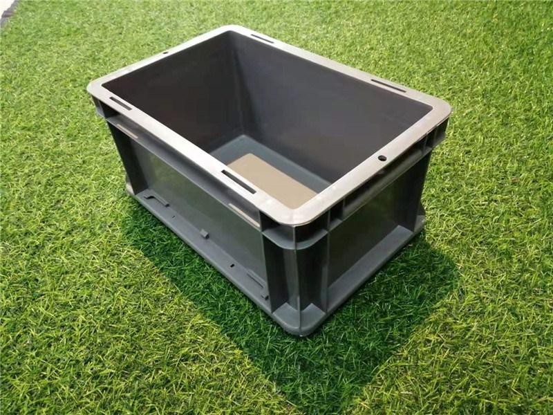 怒江【EU物流箱】灰色塑料箱歐式標準箱廠家