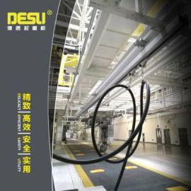 铝制单轨吊拖缆系统 铝合金KBK组合式起重机
