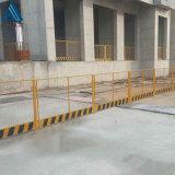 施工工地黃色圍欄/建築黃色欄杆