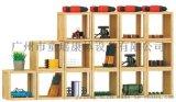 幼儿园玩具柜 儿童培训**木制收纳柜整理柜