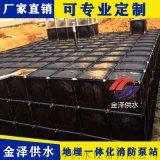 抗浮地埋式消防箱泵一體化的組成