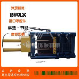 广东塑料液压打包机 立式垃圾压缩机厂家