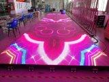 泰美互動led地磚屏p3.91全綵室內防水電子屏