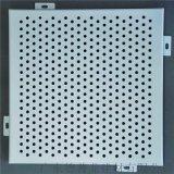 供應砂紋灰鋁板 1.5mm柳葉孔鋁單板