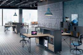 厦门办公桌老板桌创意办公桌椅组合大气轻奢经理桌