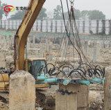 工地液压破桩机 挖机破桩头机器方案