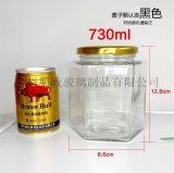 六棱瓶玻璃瓶密封罐蜂蜜瓶醬菜瓶分裝瓶玻璃瓶