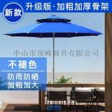 頂峯庭院傘-市場報價-廣告摺疊中柱傘陽臺遮陽傘