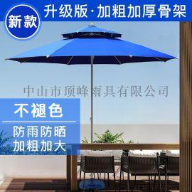 顶峰庭院伞-市场报价-广告折叠中柱伞阳台遮阳伞