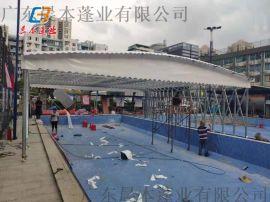 广东茂名茂南户外帐篷物流卸货棚推拉帐篷厂家直销