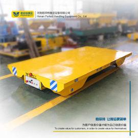 有轨电动平车装卸搬运钢包车 蓄电池供电电动轨道平车