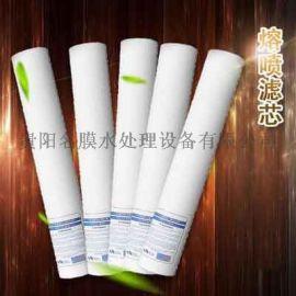 贵州PP棉滤芯 贵阳熔喷滤芯 带杆滤芯供应
