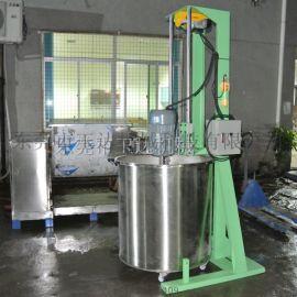 东莞直销胶水分散机 油漆分散机全不锈钢
