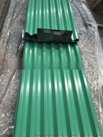 小草色900型彩钢板  小草色彩钢板围挡