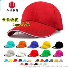 上海紅萬帽子定制 太陽帽 棒球帽 活動帽生產