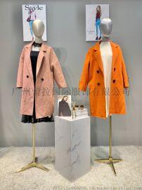 诺曼琦2020新款品牌女装折扣走份批发直播货源