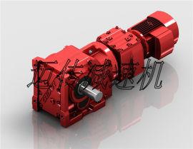 锥齿轮减速机[迈传K67R37]螺旋锥齿轮减速机