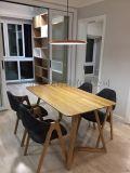 北歐極簡約後現代個性創意餐廳燈臥室吧臺餐桌飛碟吊燈