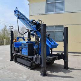 直推式土壤取样钻机环境检测履带式取土钻机冲击回转