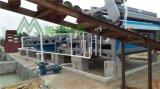 砂場泥漿壓榨設備 山砂污泥榨乾設備 河砂泥漿分離脫水設備