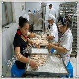 厂供香酥鸡柳上屑机 鸡肉条上糠机 鸡柳裹糠机