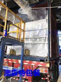 20尺PE膜内衬袋, 集装箱散装颗粒袋