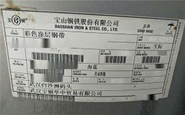 宝钢玫瑰闪蓝工业厂房用彩涂钢板-抗菌抗静电