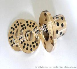 生产JDB翻边铜套自润滑轴承石墨铜套关节轴承