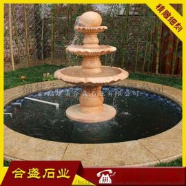 大型景观风水球 风水球报价 石雕喷泉