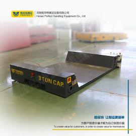 2吨轻型产品运输工具无轨胶轮电动平车 电动无轨平车